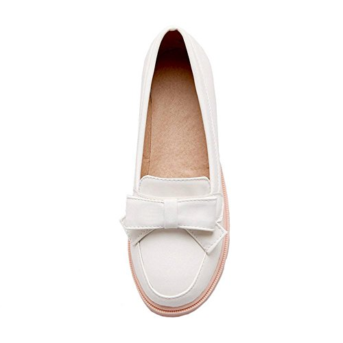 Slip White FizaiZifai Women Shoes Pumps On qwxx8X5z