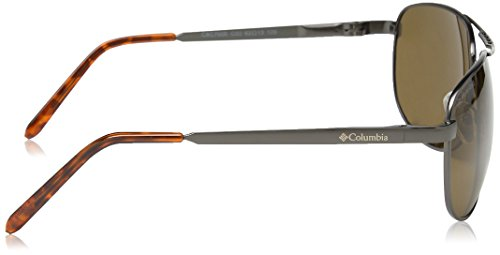 Columbia - Lunette de soleil 700E Ovale 02 Matte Dark Gunmetal