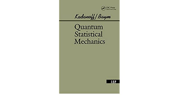 Quantum statistical mechanics; Greens function methods in equilibrium and nonequilibrium problems
