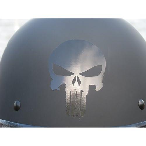 Reflective Helmet Stickers Amazoncom - Motorcycle helmet decals graphicsappliedgraphics high visibility reflective motorcycle decals