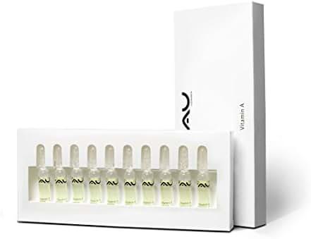 RAU Vitamin A Ampoules (10 x 2 ml / 10 x 0.07 oz.) - Liquid Vitamin A for the Skin
