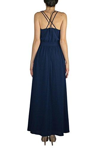 Kocca blau Empire Damen blau Kleid TwrTzqp