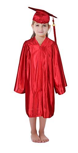 Preschool and Kindergarten Kids Graduation Gown Cap