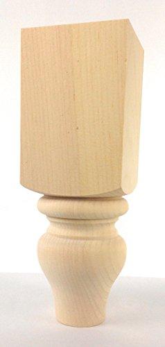 Highland Manor Wood Products Abilene Turned Sofa Leg - 10