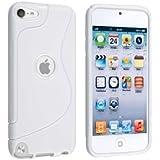 【アウトレット品】Apple iPod touch 5 アウトドアスタイルケース (アイポッドタッチ 2012年 第5世代 iPod 5th 対応) Outdoor Style TPU Case ロゴカットデザイン + 液晶保護フィルム1枚【Mad White(白)】
