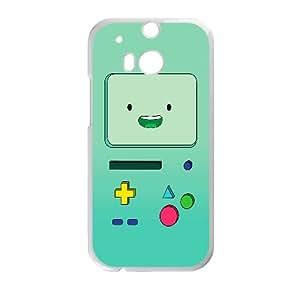 Bmo Cartoon HTC One M8 Cell Phone Case White yyfabc-406547