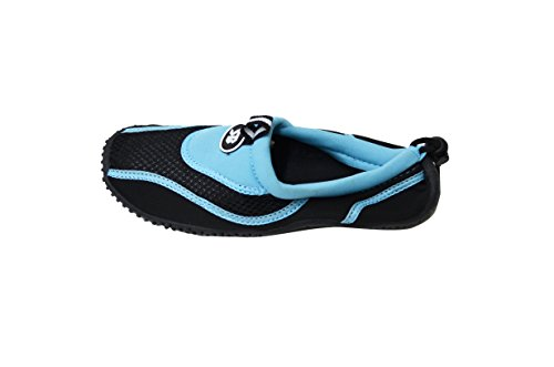 Womens Ankle Water Shoes Aqua Socks Snorkeling Pool Beach Exercise Footwear Blue-2907 awXIRhpGn