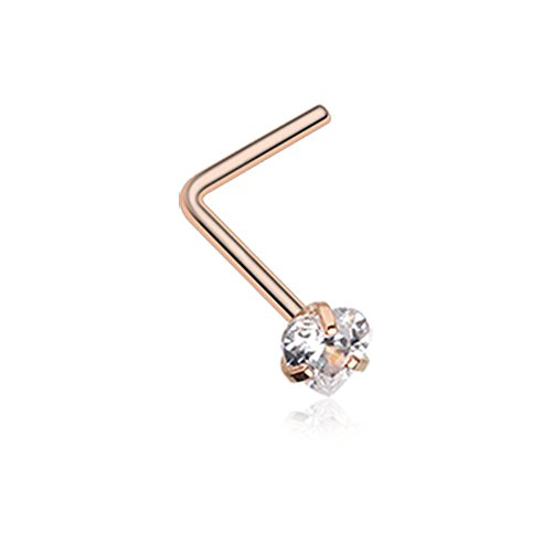 gem nose stud - 9