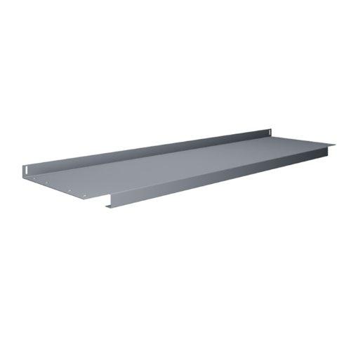 Lower Shelf, 60 W x 14 D x 1 in. H, Gray S-60