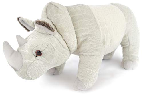 VIAHART Ramses The Rhino | 12 Inch Stuffed Animal Plush | by Tiger Tale Toys (Rino Plush)
