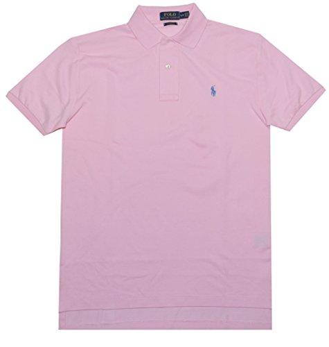 Polo+Ralph+Lauren+Mens+Classic+Fit+Mesh+Pony+Shirt-Carmel+Pink+7105-Large