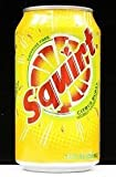 Squirt soda can