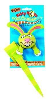 Tailchaser Catnip Toy - 8.5In - Purple/pink/green