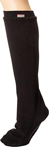 Hunter Original Tall Boot (Hunter Unisex Original Tall Boot Sock Fitted Fleece Black Medium)