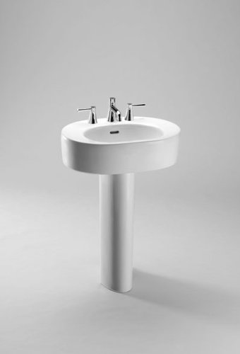Nexus 12 Pedestal - Toto LPT790#12 Nexus Pedestal Lavatory, Sedona Beige
