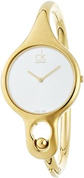 Calvin Klein Air Gold-Tone Women's Swiss Quartz Watch