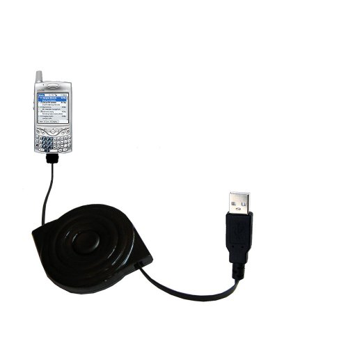 (USB Power Port Ready retractable USB charge USB cable wired specifically for the Palm palm Treo 650 and uses TipExchange)