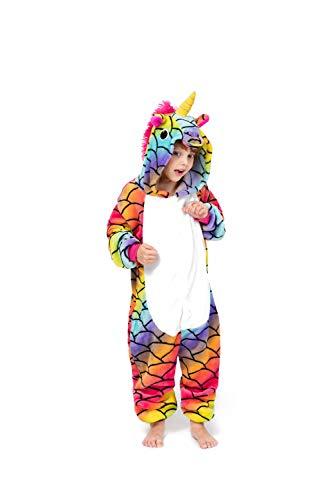 cosMonsters Unicorn Onesie for Kids Animal Pajamas Cosplay