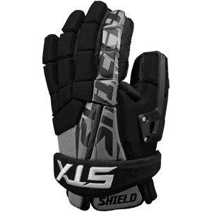 STX Lacrosse Shield Goalie Glove, Black, 10-Inch