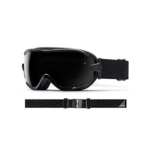 - Smith Optics Virtue Women's Spherical Series Ski Snowmobile Goggles Eyewear - Black Lux/Blackout/Small