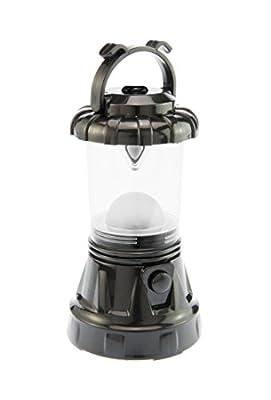 SE FL806-3BK 3-Piece Black Camping Light Set: 11-LED Lantern, 10-LED Headlamp & 9-LED Flashlight