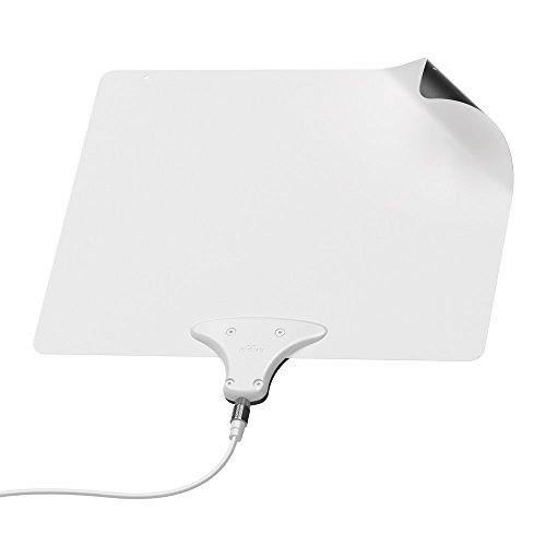(Mohu Leaf 50 Amplified HDTV 1080p Paper-Thin Indoor TV Antenna (Certified Refurbished))