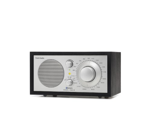 Tivoli Audio M1BTSLB Model One BT Bluetooth AM/FM Radio (Black Ash/Silver)