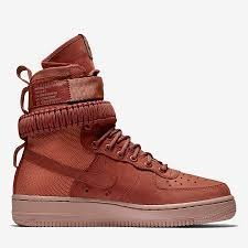 Nike Women's Sf Air Force 1 Shoe Dusty Peach (9.5 B(m) Us) 2