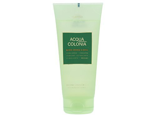 Acqua Colonia Blood Orange & Basil Aroma Shower Gel 200ml/6.8oz by - Mall Colonie