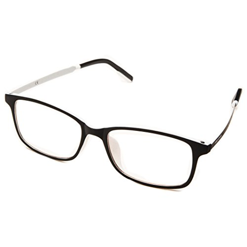 PROSPEK: ARCTIC Unisex Clear Lens Blue Light Blocking Glasses Provide Computer Eye Strain Relief.Experience Brilliant Colors and Defend Your Eyes with the Only Computer Glasses with CLEARX - Clear Lenses Light Blocking Blue