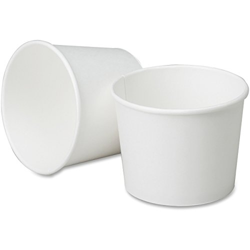 SKILCRAFT 12 oz. Paper Cups - 12 fl oz - 1200 / Box - White - Paper - Hot Drink, Soup by National Industries For the Blind
