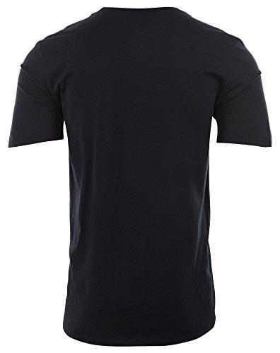 13elevated Black shirt T Courtes Tee Jordan Air Homme Manches Ligne Nike Aj 51yFcg