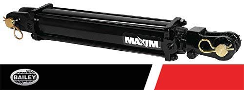 Maxim TC3 Double Acting Tie Rod Cylinder: 3 Bore x 24 Stroke - 1.5 Rod Diameter, 3000 PSI, SAE #8 Port Size, Retracted: 34.25 and Extended Length: 58.25 with 1 Pin Dia, 218845