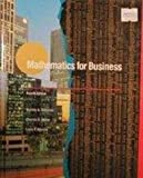 Mathematics for Business, Salzman, Stanley A. and Miller, Charles D., 0673389030
