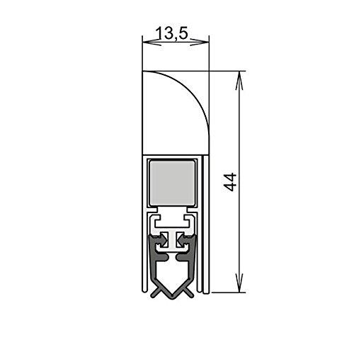 wei/ß 860 mm Athmer Wind-Ex f/ür Innent/üren