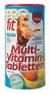 Trixie 2959 Multi-Vitamin-Tabletten, Hund 125 g