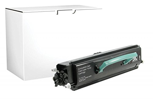 Inksters Remanufactured Universal High Yield Toner Replacement for Lexmark E230 / E232 / E240 / E330 / E340, Dell 1700/1710, IBM 1412/1512