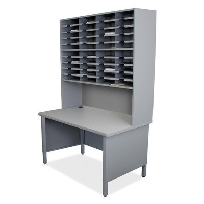 Mailroom 40 Slot Organizer Finish: Slate Gray