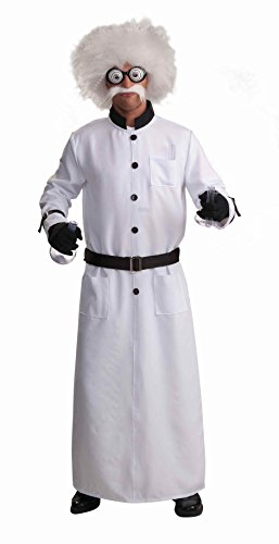 Forum Novelties Men's Mad Scientist Costume, White, Standard (Mad Scientist Costumes)