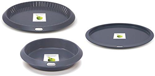 GreenPan Dubai Collection 3pc Non-Stick Baking Set - Cake, Pie & Tart Pans by GreenPan