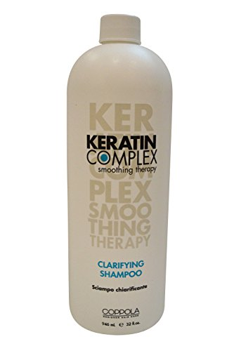Smoothing Shampoo Therapy (Keratin Complex Smoothing Therapy Clarifying Shampoo 32 oz [Health and Beauty])
