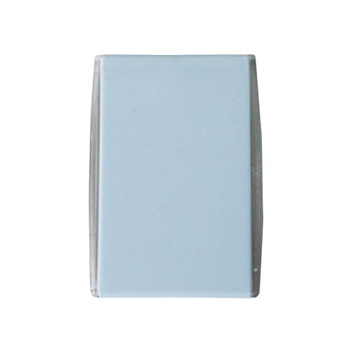 Makeup Mirror with Light Travel, Compact Makeup Mirror Handheld Mirrors for Women Round Foldable Portable Makeup Travel Makeup Mirror (Color : Blue, Size : 7.711cm) ()