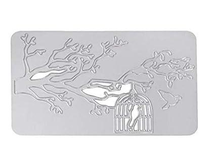 Stybelle Rompecabezas hechos a mano bricolaje estampado cuchillo molde artesanía molde decoración suministros