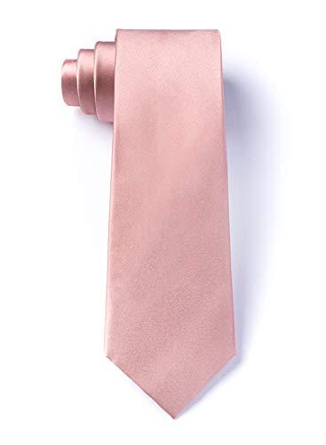 Pink Silk Skinny Tie | Bridal Rose 3
