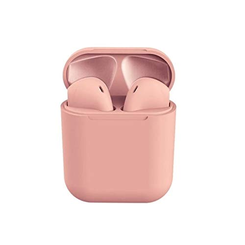 FRYSKA TWS Bluetooth Earbuds Mini Wireless Earphones Headset with Mic  Pink