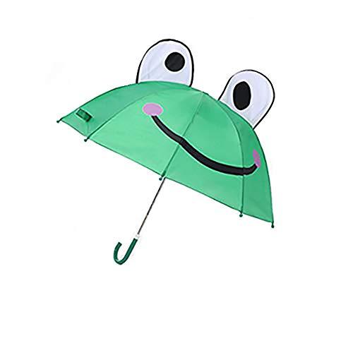 Cute Cartoon Pikachu Umbrella Creative Children Umbrella Children'S Cartoon Umbrella (Frog) (Creative Umbrella)