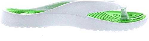 Wear Beach Women's Green Sunville Flip Flops Casual xwOEvvqg
