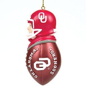 Oklahoma Sooners Team Glass Helmet - 2