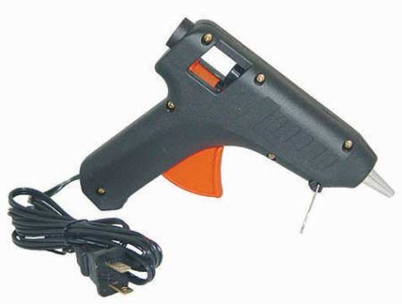 Full Size High Temperature Trigger Fed Hot Glue Gun for Crafting, Floral Arranging , and - Gun Fed