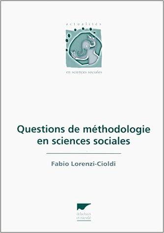 Lire en ligne Questions de méthodologie en sciences sociales pdf, epub ebook